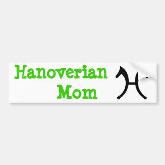 Hanoverian Mom - Bumper Sticker