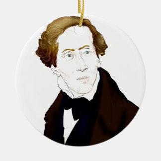 Hans Christian Andersen Ceramic Ornament