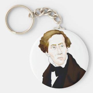 Hans Christian Andersen Keychain