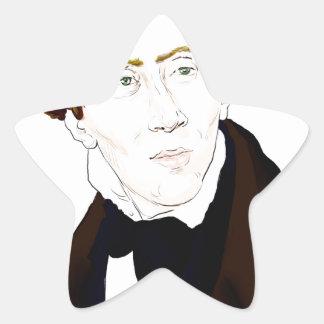 Hans Christian Andersen Star Sticker