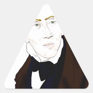 Hans Christian Andersen Triangle Sticker