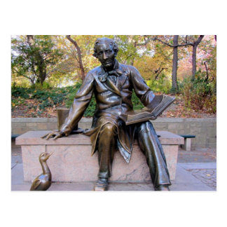 Hans Christian Anderson Statue Post Card