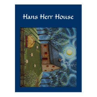 Hans Herr House Postcard