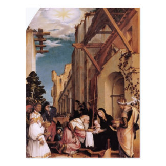 Hans Holbein-Oberried Altarpiece Postcard