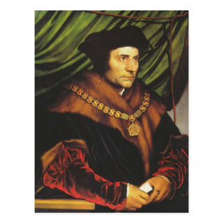 Hans Holbein - Portrait of Sir Thomas More Postcard
