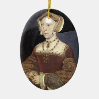 Hans Holbein the Younger- Jane Seymour Ceramic Ornament