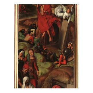 Hans Memling- Passion (Greverade) Altarpiece Postcard