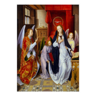 Hans Memling The Annunciation Poster
