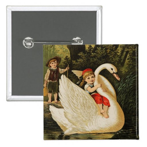 Hansel and Gretel and the Swan Buttons