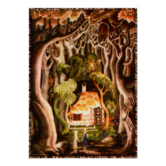 Hansel and Gretel by Kay Nielsen Print