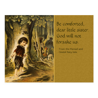 Hansel and Gretel  CC0207 Fairy Tale Postcard
