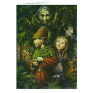 Hansel And Gretel Greetings Card
