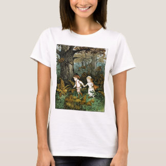 Hansel and Gretel Illustration T-Shirt