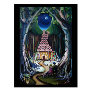 Hansel and Gretel : Jupigio-Artwork.com Postcard