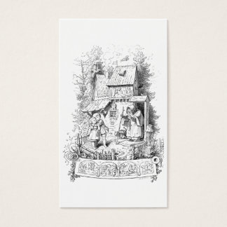 Hansel and Gretel Meet the Witch Business Card
