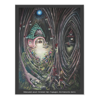Hansel and Gretel Painting Photo Print
