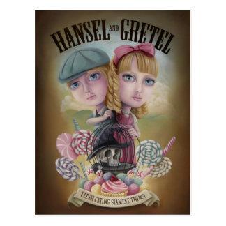 Hansel and Gretel postcards
