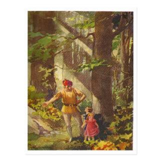 hansel & Gretel Postcard