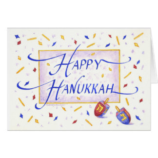 Hanukka Greeting Cardh Card