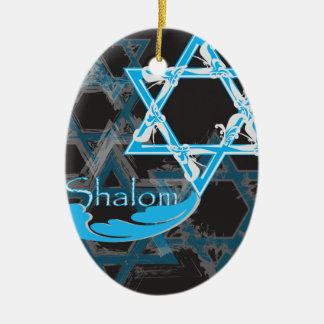 Hanukkah 2017 Ornament - Stars of David