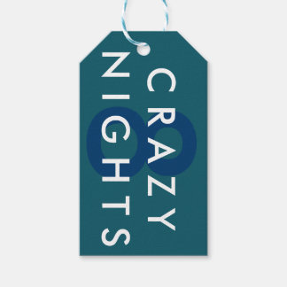 Hanukkah 8 Crazy Nights Gift Tag