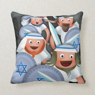 Hanukkah and the Maccabees Throw Pillow