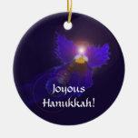 Hanukkah Angel Ornament
