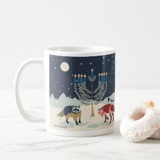 Hanukkah animals Menorah Desert Coffee Mug