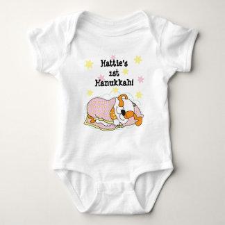 Hanukkah Baby Body Suit/dog/Pink Baby Bodysuit