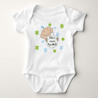 Hanukkah Baby Boy's Jersey Body Suit Baby Bodysuit
