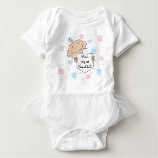 Hanukkah Baby Girl's TuTu Body Suit Baby Bodysuit