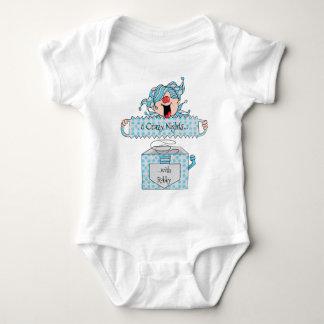 """Hanukkah Baby Jersey Bodysuit """"Dreidel in Box"""""""