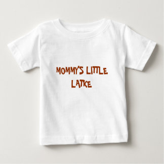 HANUKKAH BABY SHIRT MOMMY'S LITTLE LATKE