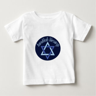 Hanukkah Blessings Baby T-Shirt