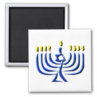 Hanukkah Candles Magnet