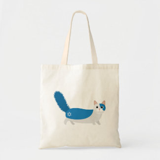 Hanukkah Cat Tote Bag
