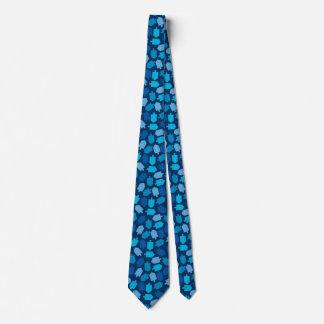 Hanukkah Chanukah Driedel Pattern Tie