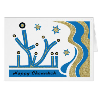 Hanukkah/Chanukah Greeting Card with Envelope