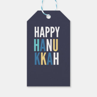 Hanukkah Characters Pack Of Gift Tags