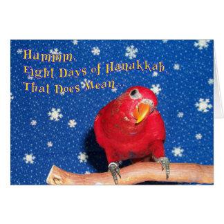 Hanukkah Chew Toys Card