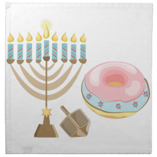 Hanukkah Cloth Napkins