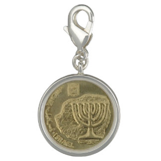 Hanukkah Coin 2 Photo Charm