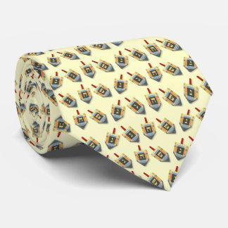 Hanukkah Dreidels Tie