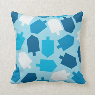 Hanukkah Driedel Pilllow Throw Pillow