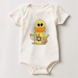Hanukkah Duck Baby Bodysuit