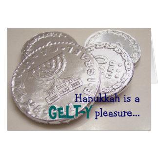 Hanukkah Gelty Pleasure Card
