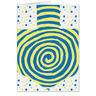 Hanukkah Greeting Card Personalize Option