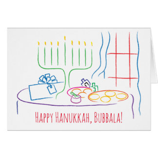 Hanukkah Greeting Card Personalize with envelope