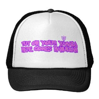 Hanukkah Mesh Hats