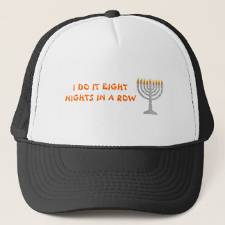 HANUKKAH HAT I DO IT EIGHT  NIGHTS IN A ROW